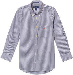 Gant Navy Banker Stripe Shirt