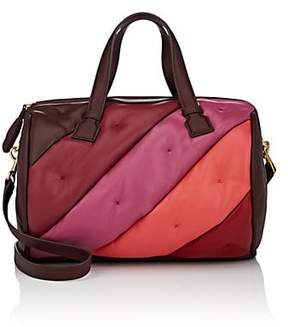 Anya Hindmarch Women's Chubby Colorblocked Leather Duffel Bag