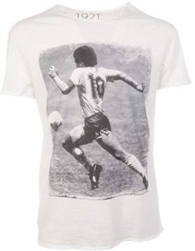 1921 Men's White Cotton T-shirt.