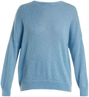 Masscob Round-neck mohair-blend sweater