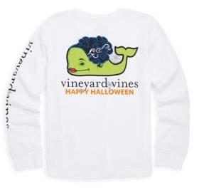 Vineyard Vines Toddler's, Little Girl's & Girl's Frankenstein Halloween Long Sleeve Tee