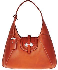 Dooney & Bourke Florentine Toscana Front Stitch Hobo Bag