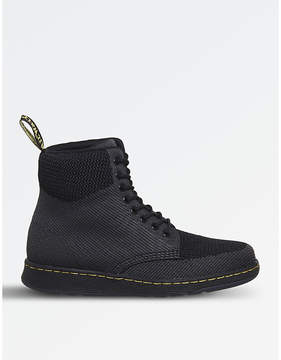 Dr. Martens Rigal knitted mesh boots