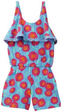 Kate Spade tangier floral romper (Big Girls)