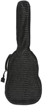 Saint Laurent Velvet Mesh & Glitter Guitar Case