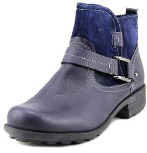 Earth Origins Paris W Round Toe Leather Ankle Boot.