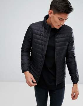 Esprit Quilted Jacket In Real Down