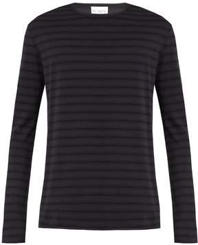 Raey Raw-edge long-sleeved T-shirt