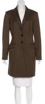 Tahari Wool & Mohair-Blend Coat