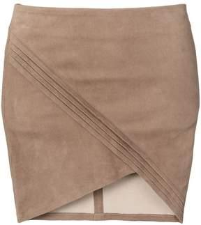 RtA wrap-effect skirt