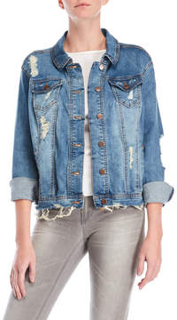 Dollhouse Distressed Jean Jacket