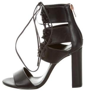 Ruthie Davis French Lace-Up Sandals w/ Tags