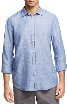 Bloomingdale's The Men's Store at Linen Regular Fit Button-Down Shirt - 100% Exclusive