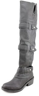 American Rag Dukee Women Round Toe Synthetic Black Over The Knee Boot.