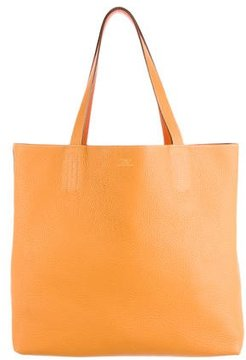 Hermes Clemence Double Sens Tote 45 - ORANGE - STYLE