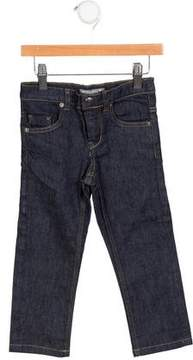 Bonpoint Boys' Straight-Leg Mid-Rise Jeans w/ Tags