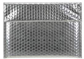 MM6 MAISON MARGIELA Women's Silver Leather Clutch.