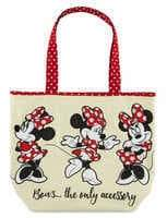 Disney Minnie Mouse Canvas Tote