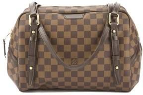 Louis Vuitton Damier Ebene Rivington PM Bag (Pre Owned) - BROWN - STYLE