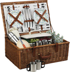 Picnic at Ascot Dorset Basket for Four with Coffee Service