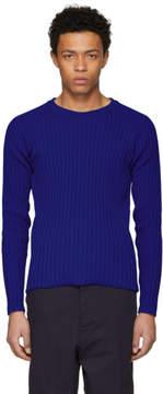 Ami Alexandre Mattiussi Blue Crewneck Sweater