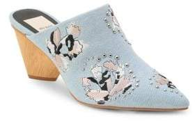 Dolce Vita Asia Embroidered Mules
