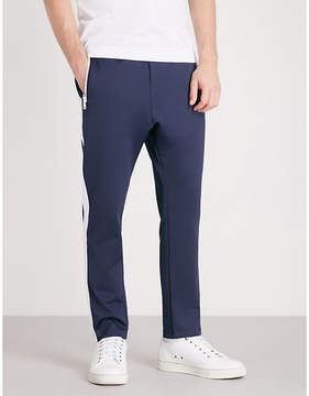 The Kooples Panel striped jersey jogging bottoms