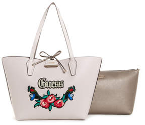 GUESS Bobbi Embroidered Large 3-in-1 Tote Set