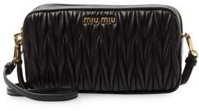 Miu Miu Women's Matelasse Leather Mini Bag