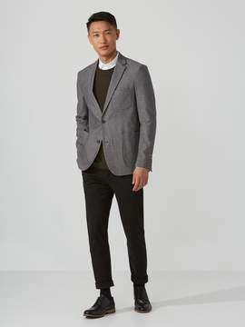 Frank and Oak Flecked Cotton-Blend Blazer in Mixed Grey