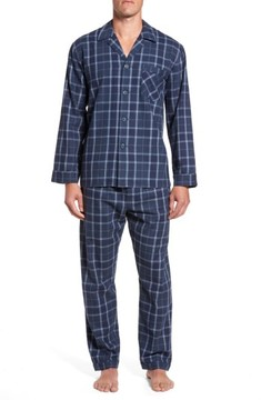 Majestic International Men's Guiness Plaid Pajama Set