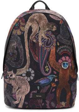 Paul Smith Multicolor Monkey Backpack