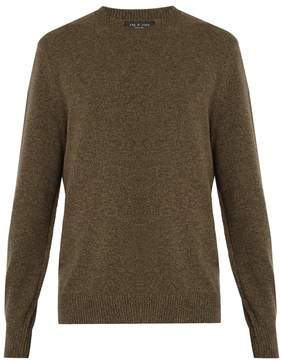 Rag & Bone Haldon crew-neck cashmere sweater