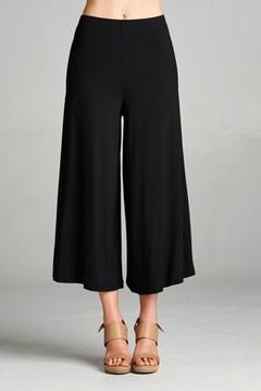 Cherish Black Culotte Pants