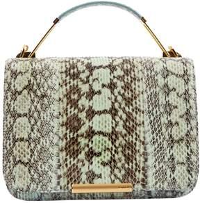 Emilio Pucci Green Water snake Handbag
