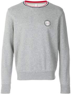 Sun 68 logo patch sweatshirt