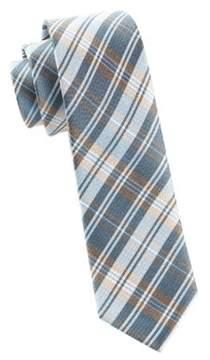 The Tie Bar Silk Plaid Tie