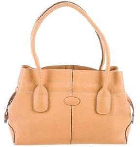 Tod's Small Grained Leather Tote