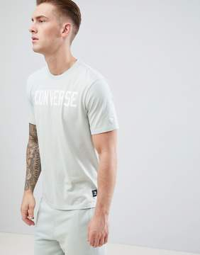 Converse Essentials Graphic Tee In Green 10005814-A06