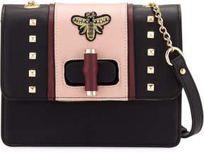 Neiman Marcus Reina Faux Crossbody Bag