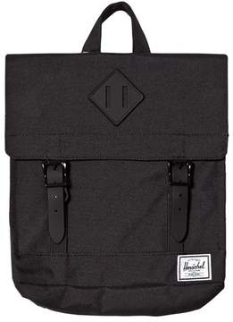 Herschel Survey Kids Black/Black Rubber
