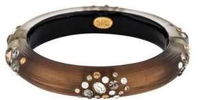 Alexis Bittar Lucite & Crystal Bracelet