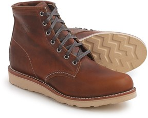 "Chippewa Renegade General Utility Wedge Boots - Leather, Plain Toe, 6"" (For Men)"
