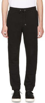 McQ Black Glyph Logo Lounge Pants