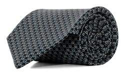 Salvatore Ferragamo Men's 0682142 Black Silk Tie.