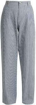 A.P.C. Coryn striped straight-leg jeans