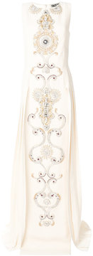 Fausto Puglisi crystal embellished evening dress