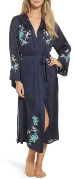 Chelsea28 Women's Embroidered Long Robe