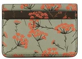 MANGO Floral-print card holder