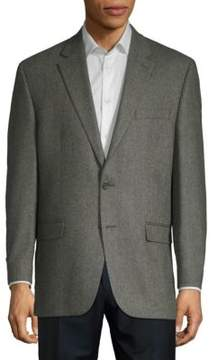 Lauren Ralph Lauren Herringbone Wool and Cashmere Blazer